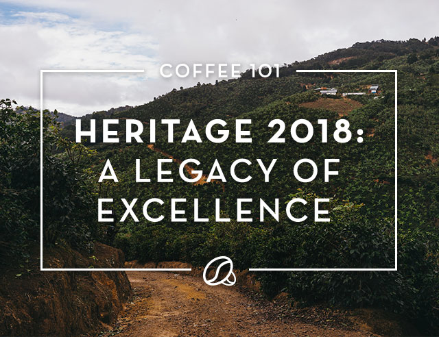 Heritage Blend: Celebrate a history of flavor