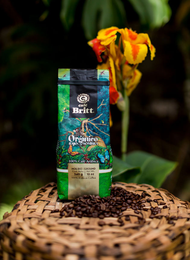Cafe Britt Organic Coffee