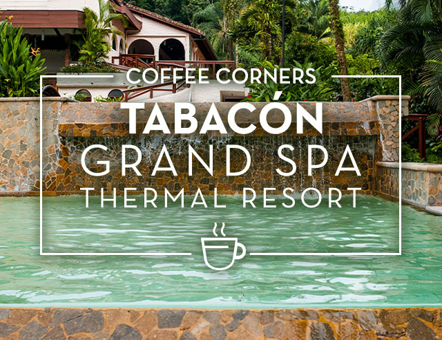 Coffee Corners Tabacon Grand Spa