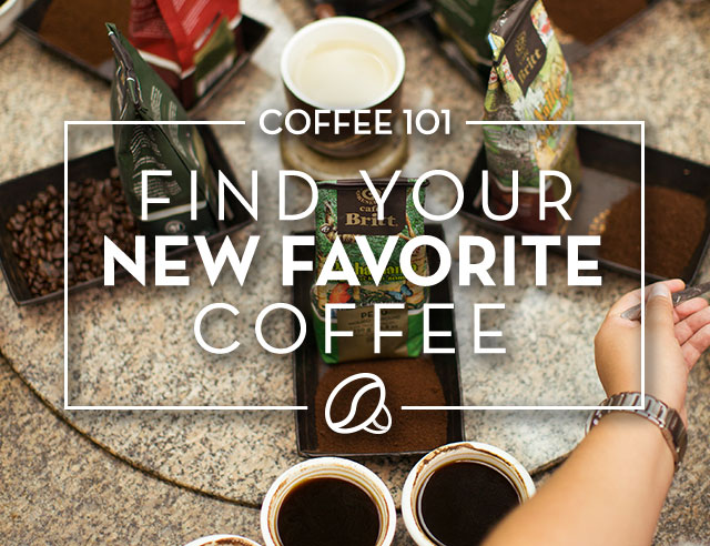 Find Your New Favorite Coffee