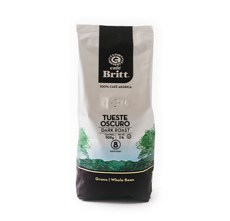 Costa Rican Dark Roast 2lbs Whole Bean Coffee