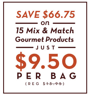 15 Mix and Match Gourmet products